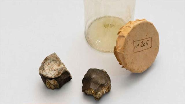 Hallan dos fragmentos del meteorito que cayó en Barcelona en 1704
