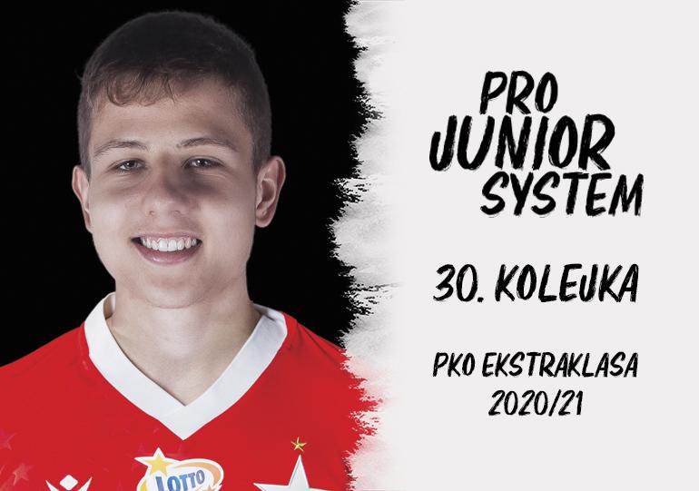 Piotr Starzyński<br><br>fot. Wisła Kraków / wisla.krakow.pl<br><br>graf. Bartosz Urban