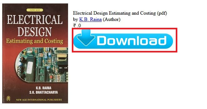 Electrical Estimating And Costing By Surjit Singh Pdf Download