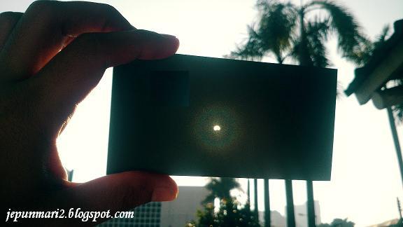 Indahnya Gerhana Matahari
