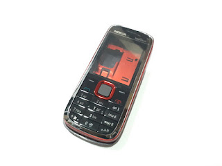 Casing Nokia 5130 XpressMusic Fullset Tulang Keypad