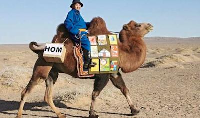 biblioteca mobile Mongolia