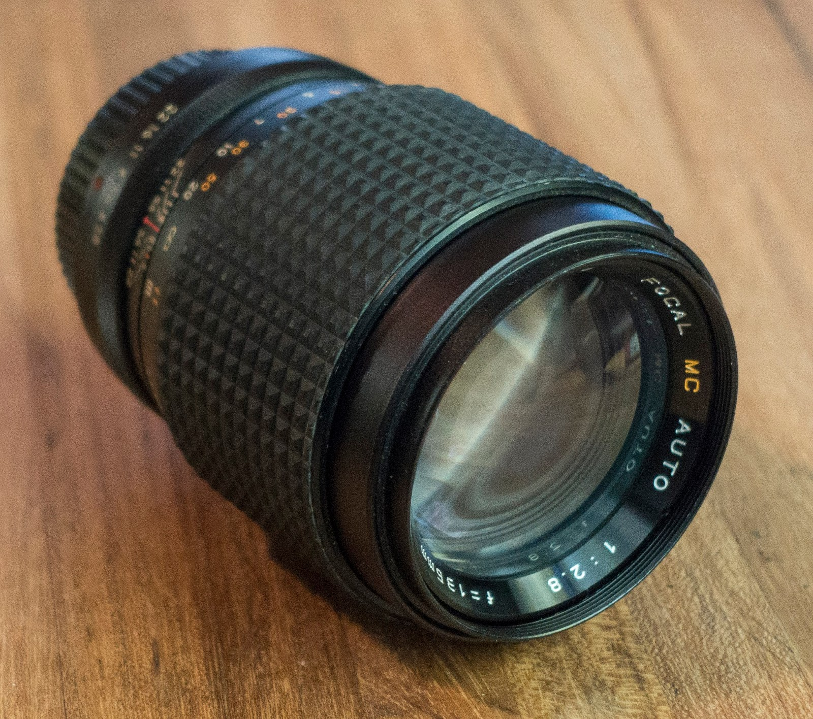 Playing With Lenses: A better Focal MC Auto 1:2 8 135mm