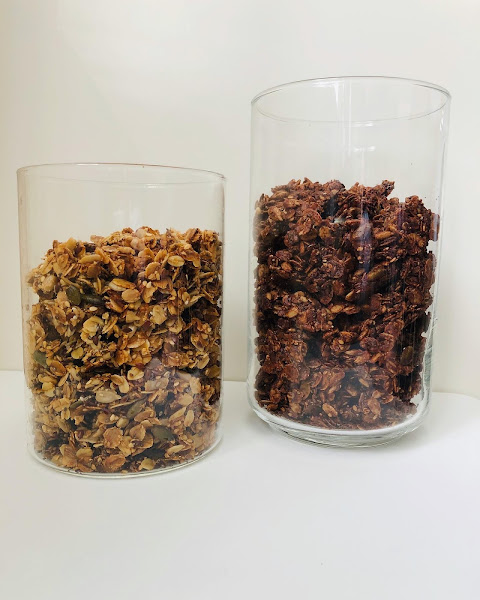 Granola choco et granola nature
