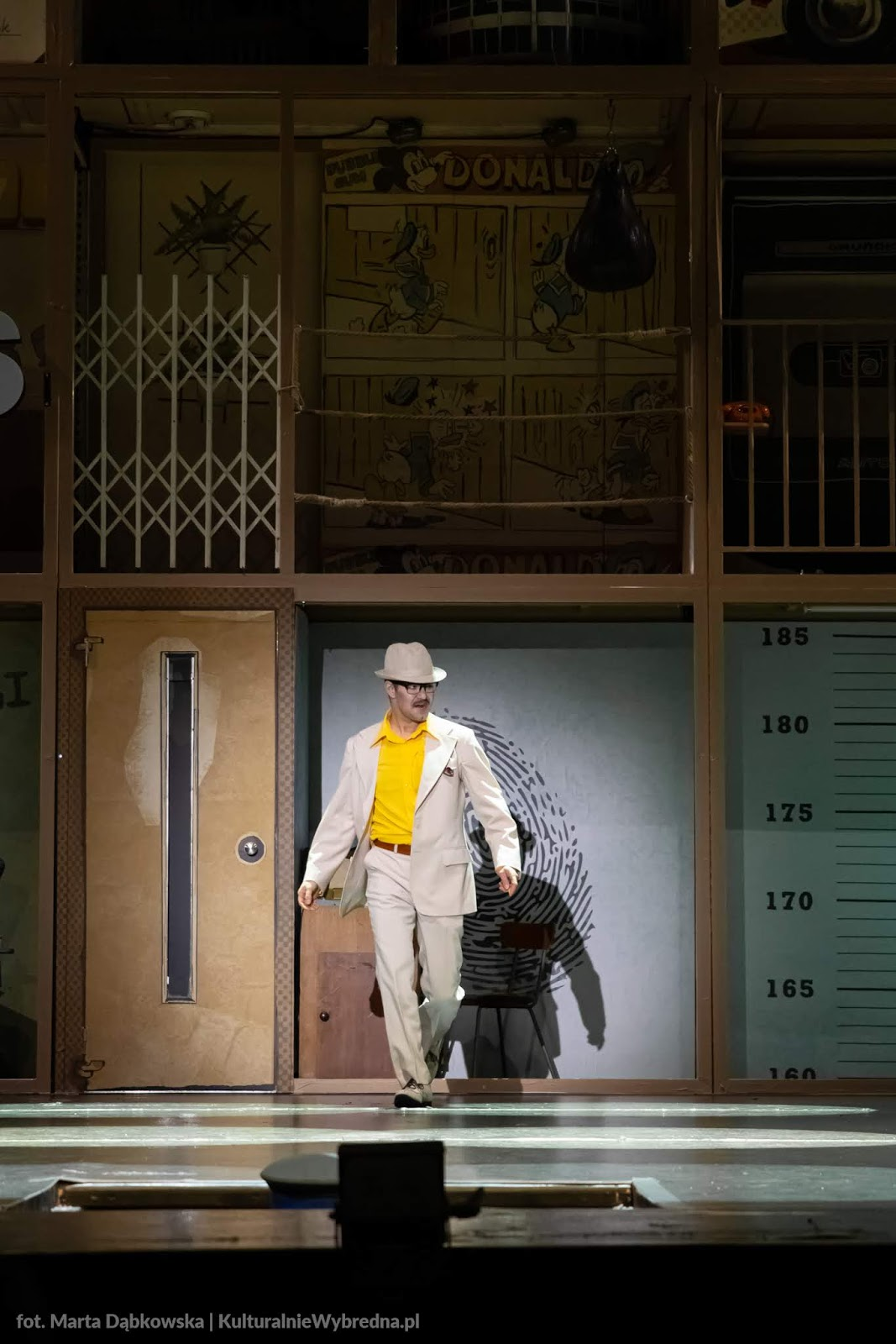 musical Kapitan Żbik i Żółty Saturator Teatr Syrena zdjęcia Albert Osik