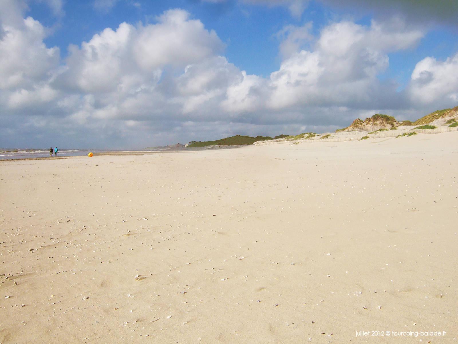 Le Crotoy, plage de sable et dunes