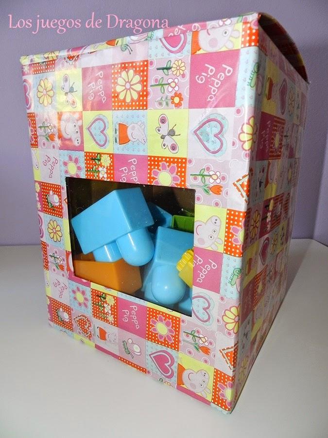 Una caja para guardar juguetes blogs de madres y bebes - Cajas para almacenar juguetes ...