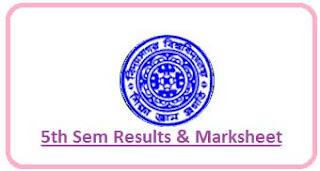 Vidyasagar University 5th Sem Result 2020