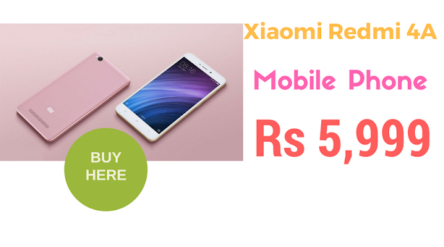 Xiaomi Redmi 4A Online Booking Registration flipkart.com