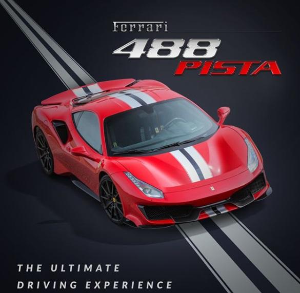 Ferrari 418 Pista