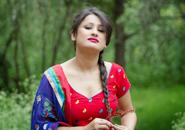 Beautiful Nepali Actress Richa Singh Thakuri  Nepali Model-3071
