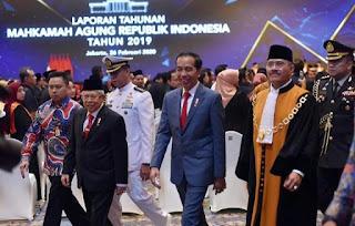 Presiden Jokowi: Kredibilitas Lembaga Peradilan Ditentukan oleh Kredibilitas Para Hakim