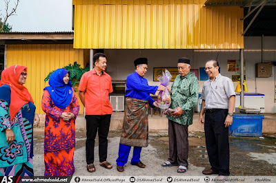 Saya menziarahi pemimpin veteran UMNO Bahagian Setiu