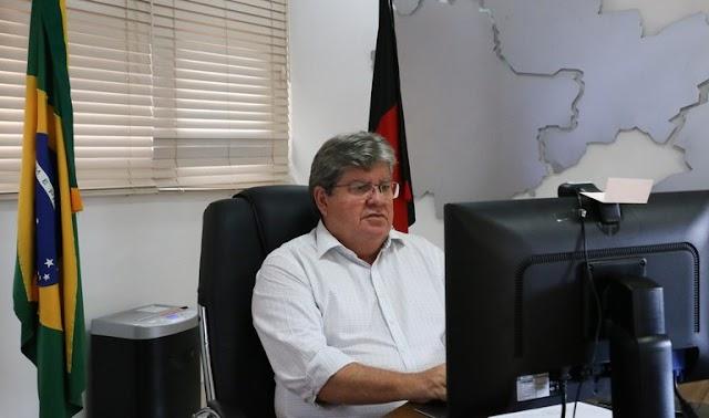 João diz que 'feriadão' não é lockdown e prevê redução de casos de Covid; Estado lançará pacote econômico