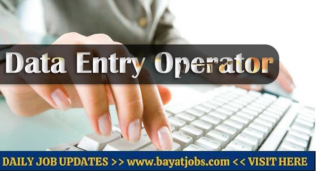 Data Entry Jobs in Dubai For Freshers & Experienced Vacancies