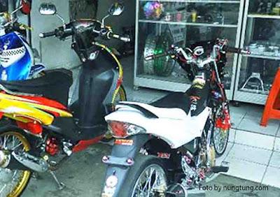 Cara Motor Tampil Gaya Dengan Warna  https://nungtung.blogspot.com