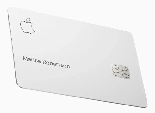 Apple Titanium credit card for Apple Pay users - Techzost blog