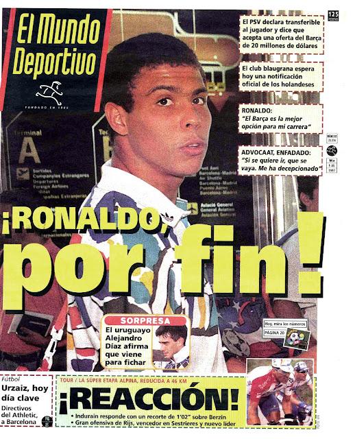 Mundo Deportivo Ronaldo Barcelona