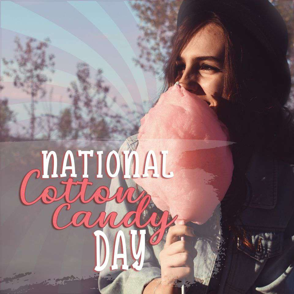 National Cotton Candy Day Wishes