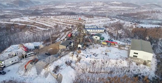 22 people  trapped after explosion in Chinese gold mine