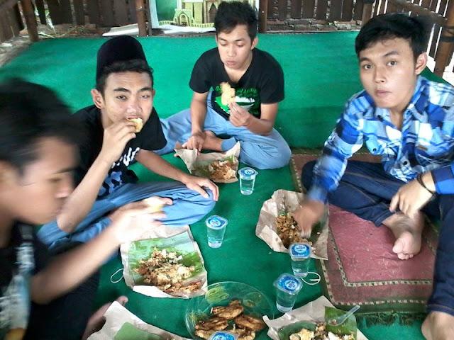 Sabar (sarapan bareng) di Lp2i Brawijaya Tulungagung