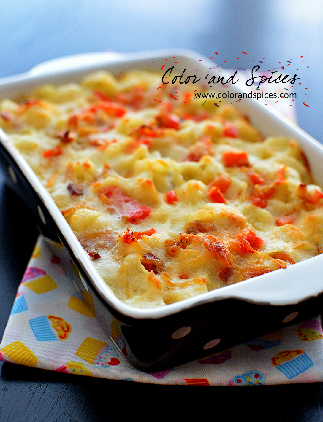 Color and Spices: Mac n Cheese my way...