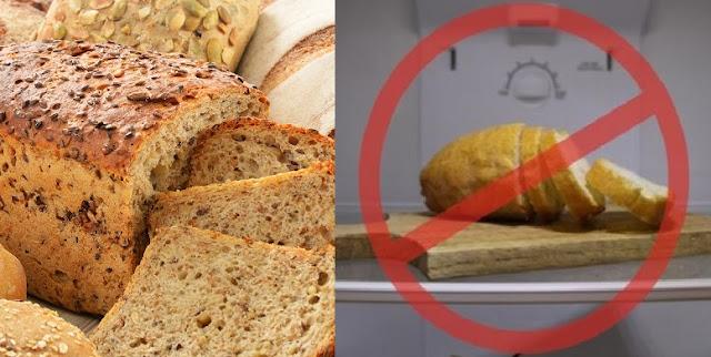 Masih Banyak yang Keliru ! Jangan Lagi Menyimpan Roti di Dalam Kulkas