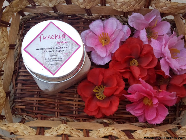 Fuschia Garden Lavender Face & Body Invigorating Scrub Review