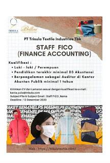 Lowongan Kerja PT Trisula Textile Industries Tbk