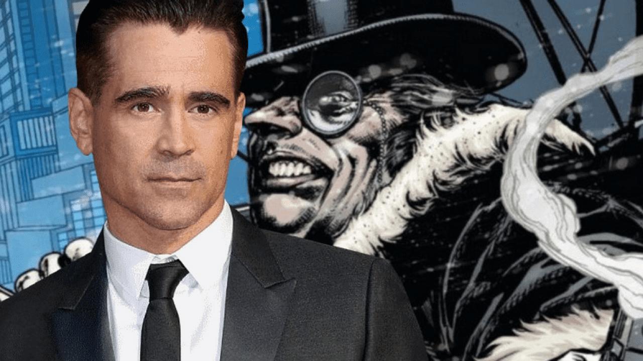 Matt Reves confirma Colin Farrell como Pinguim em The Batman