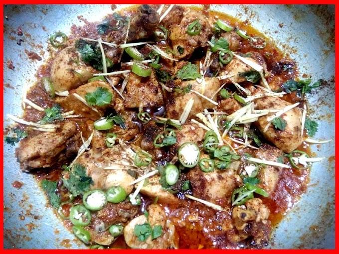 Street Food Style Orignal Chicken Karahi