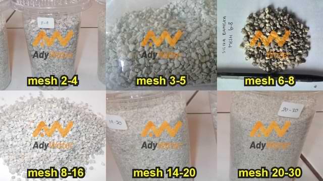 harga pasir silika kasar