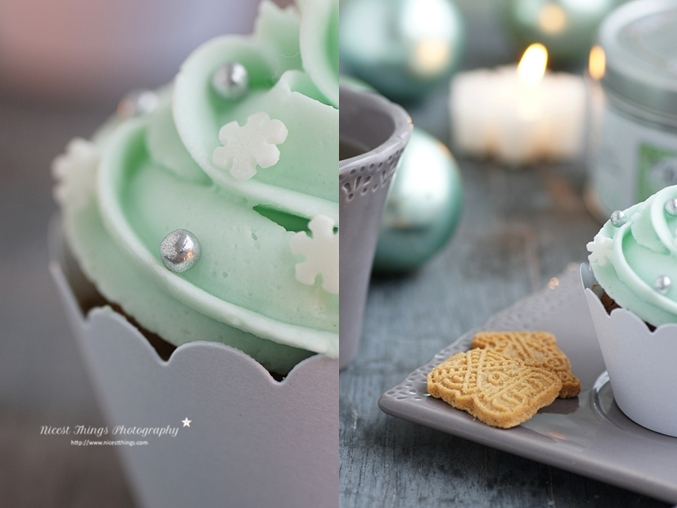 Weihnachtliches Backrezept Spekulatius Cupcakes