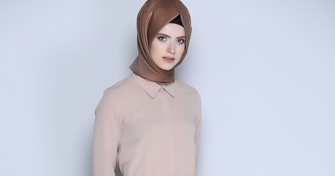 Super Hijab Moderne 2018 Turque Avec Robe - Hijab Fashion and Chic Style XF69
