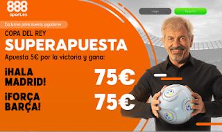 888sport superapuesta clasico copa Real Madrid vs Barcelona 27 febrero 2019