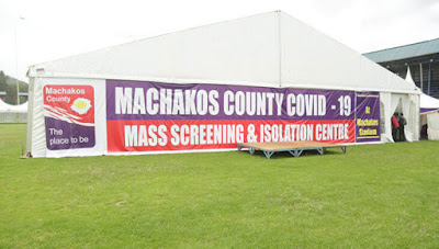 Machakos stadium changed to Coronavirus testing centre