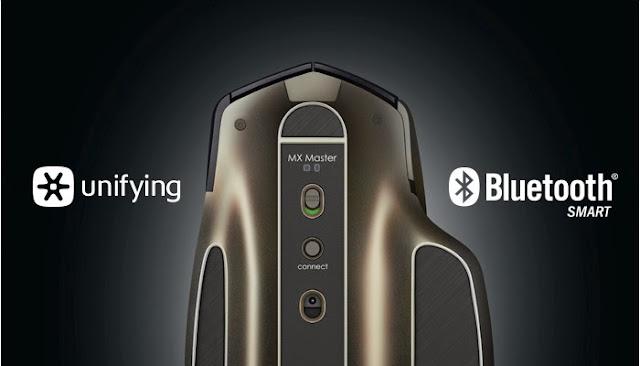 ماوس MX master الخارق يتصل ب 3 أجهزة في وقت واحد ويعمل لمدة 40 يوم بدون شحن