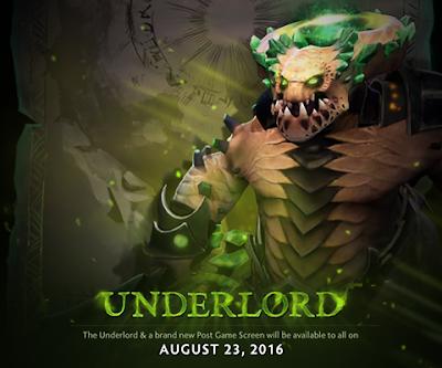 """Penampakan Hero Baru """"Abyssal Underlord"""" Pada Ajang TI6"""
