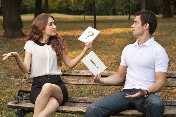 Картинки по запросу разговор мужчины и женщины