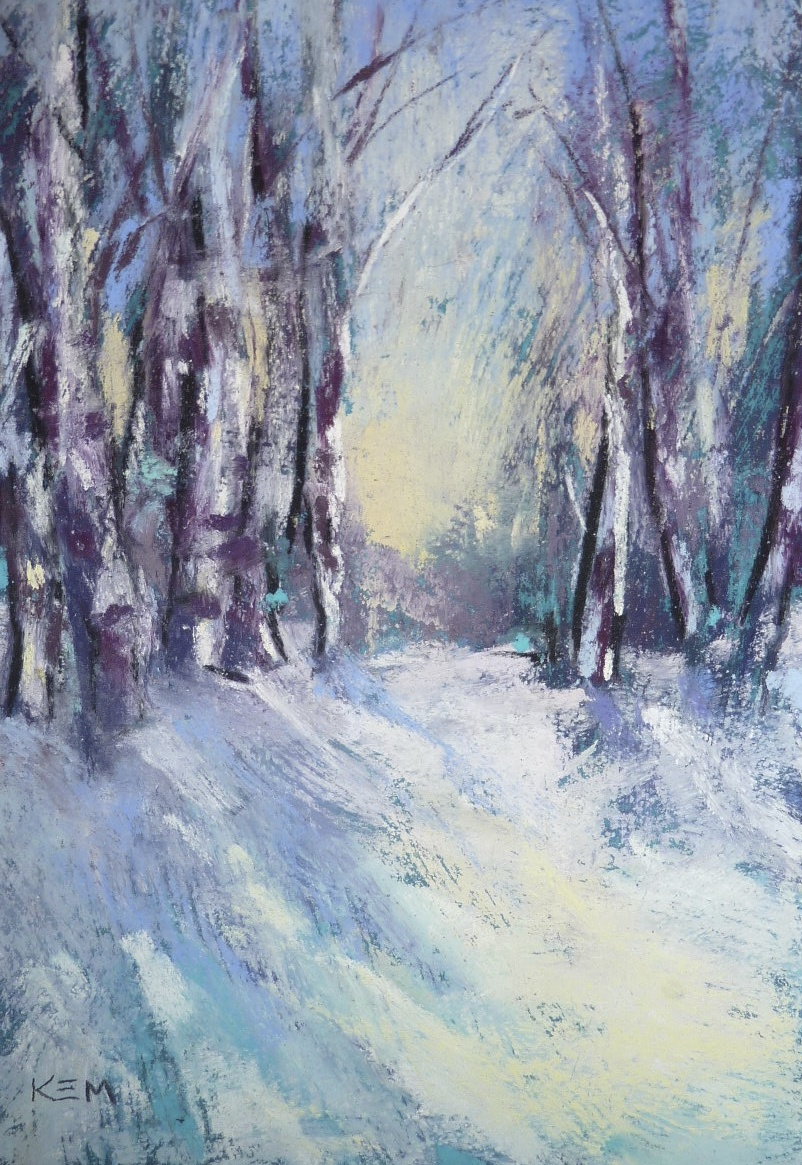 painting my world winter pastel paintings youtube slide. Black Bedroom Furniture Sets. Home Design Ideas