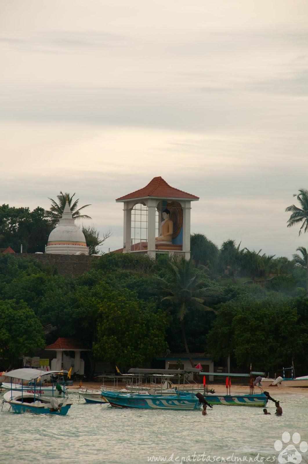 Unawatuna en Sri Lanka