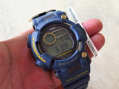CASIO G-SHOCK FROGMAN NAVY BLUE GWF-D1000NV - TRIPLE SENSOR - TOUGH SOLAR -  BRAND NEW (SOLD) 62ae2a112e