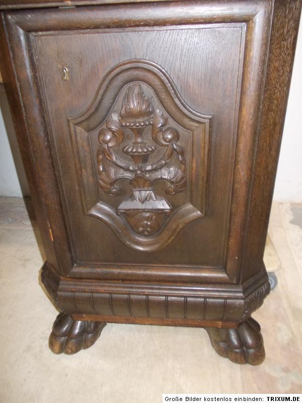 Designer Antik Möbel Antik Schreibtisch Mit Löwenfüßen