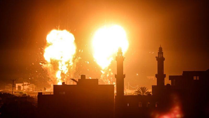 Zionis Israel bombardir Gaza