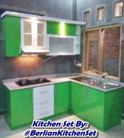 Kitchen Set Dapur Warna Hijau