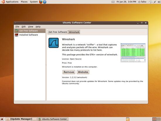 Installing wireshark in ubuntu 9 10 | Zuraidin's