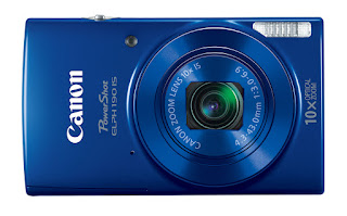 Canon PowerShot ELPH 190 IS - BLUE FRONT