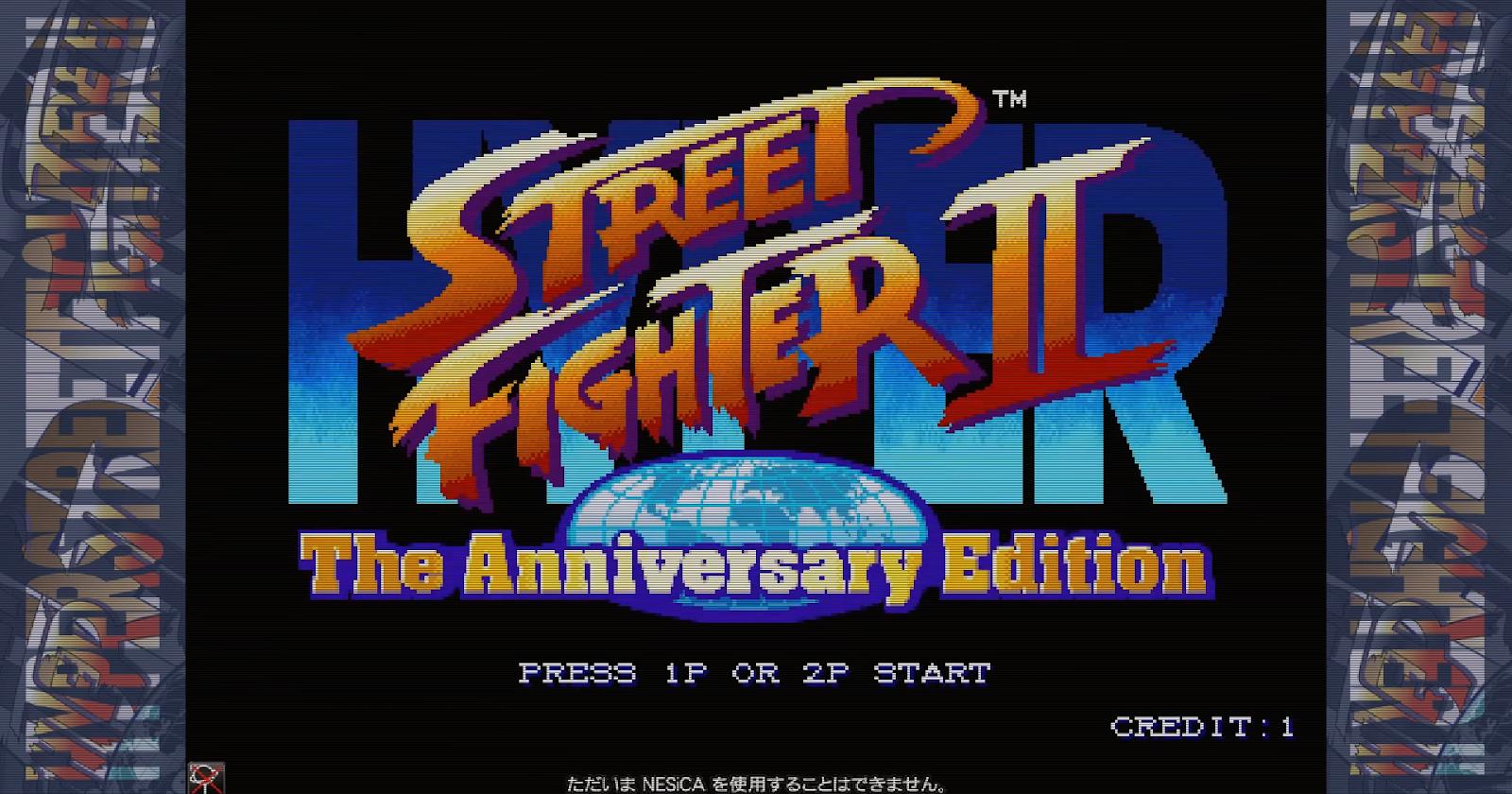 Hyper Street Fighter II The Anniversary Edition Arcade Dump