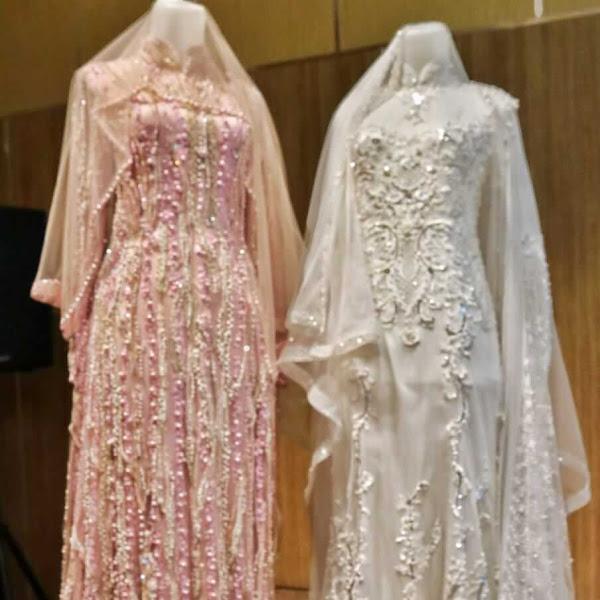 LAKSMI Hadirkan Desain Busana Pengantin Muslimah Simpel Elegan