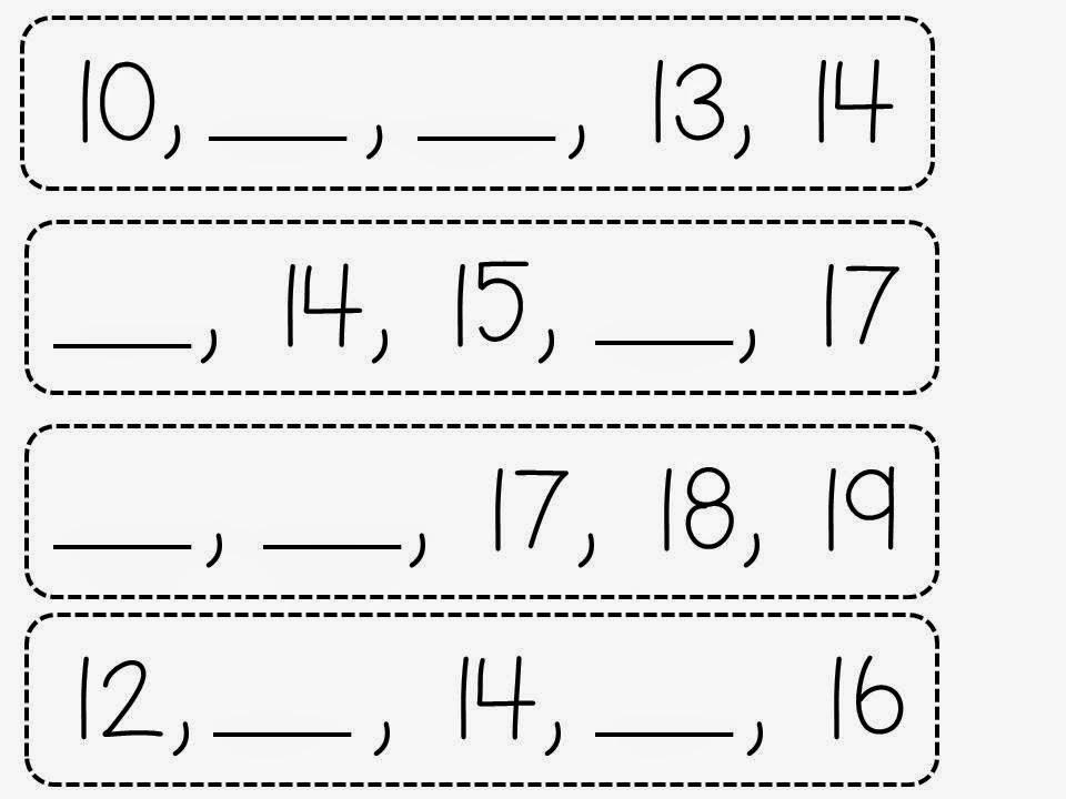 Slide78 - Teen Numbers Kindergarten